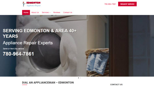 Appliance Repair Edmonton