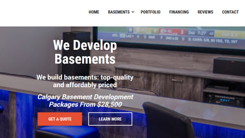 Basement Development Builder Calgary