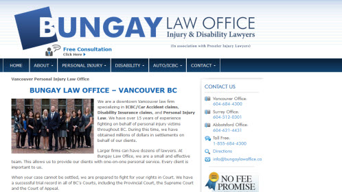 ICBC Law Firm Vancouver