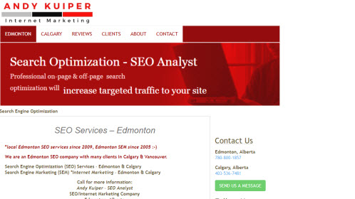 Internet Marketing Edmonton