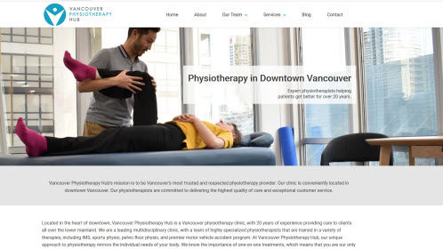Physiotherapy Hub Vancouver