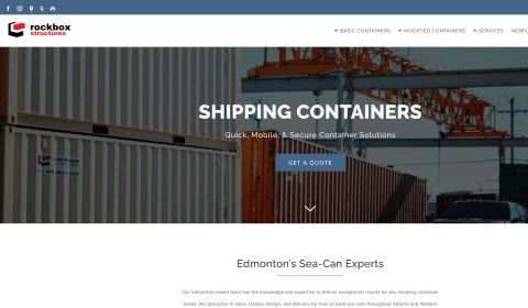 Shipping Containers Sea Cans