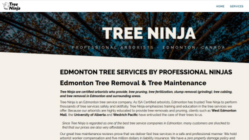 Tree Removal Edmonton