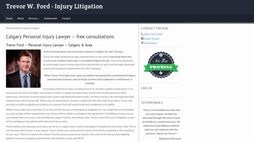 Trevor Ford Injury Law