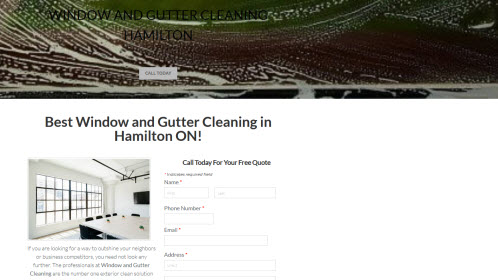 Gutter Cleaning Hamilton