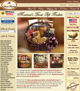 Wedding Gift Delivery Canada : Gift Baskets