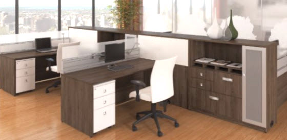 bureaux de travail. Black Bedroom Furniture Sets. Home Design Ideas