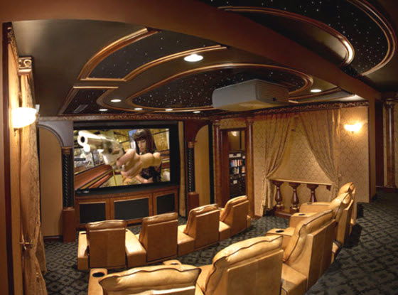 Custom Home Theater ~ Best Inspiration For Furniture and Design ...